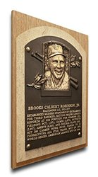 That's My Ticket MLB Robinson Athletic Baseball Hall of Fame Plaque Canvas