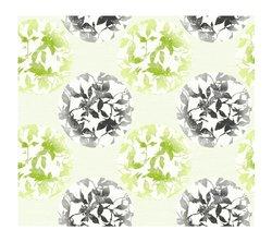 York Wallcoverings Earthbound Prepasted Wallpaper - Green/Black