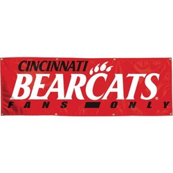 NCAA Cincinnati Bearcats 2-by-6 Foot Vinyl Banner