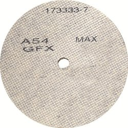 SAIT 29213 7 by 1/4 by 7/8 A36 UA-GFX Cotton Fiber Wheel 10-Pack