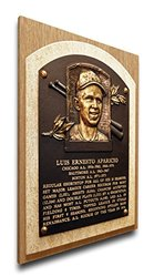 That's My Ticket MLB Luis Aparicio Baseball Hall of Fame Plaque on Canvas
