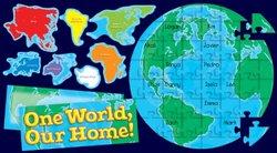 Scholastic Teacher's Friend Our Earth Puzzle Bulletin Board (TF8401)