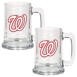 Washington Nationals Glass Mug Set - 2 pc