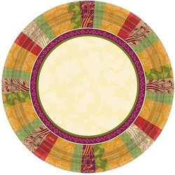 Hanna K. Signature Fall Expressions Paper Plate Set - Size: 10in
