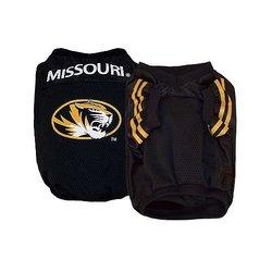 Sporty K9 Collegiate Missouri Tigers Dog Football Jersey - Size: X-Small