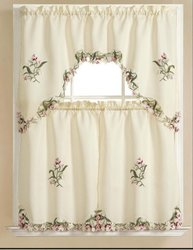 RT Designers Collection Adele Kitchen Curtain, 30-Inch x 36-Inch