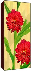 Green Leaf Art Red Modelias Wall Art