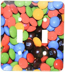 lsp_64866_2 M and M Candies In A Bowl Shot Up Close Double Toggle Switch