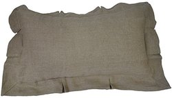 Be-you-tiful Home Jackson Dutch Euro Pillow - Natural - Over Sized