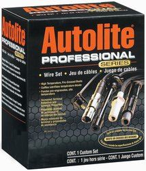 Autolite Spark Plug Wire Set Equipment Design (96906)