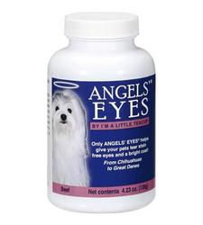 Angels' Eyes Tear Stain Remover For Dogs and Cats - Beef Flavor - 4.23 oz.