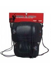Triple 8 Street Protective Pack (Black, Junior, 2 Pack)
