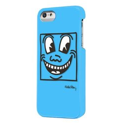 Case Scenario Keith Haring Double Layered Case for iPhone 5 - Eyes -  Blue