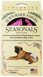 Seasonals Washable Dog Diaper, Fits Medium Dogs, Tiger