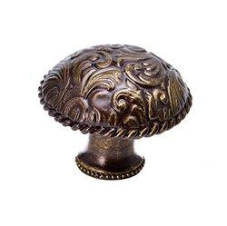 Carpe Diem Hardware 8050-3 Tularosa large Knob, Antique Brass