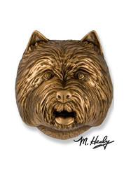 Michael Healy Designs Westie Dog Knocker - Bronze