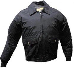 Solar 1 Clothing NY01 NYPD Style Police Nylon Duty Jacket, Navy, X-Large Long