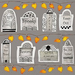 Ideal Home Range Lunch Napkins, Tombstones