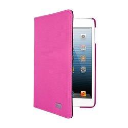 iHome IH-IM1151P Textured Swivel Folio for iPad mini, Pink