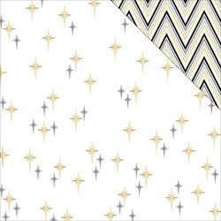 """Teresa Collins 25 Sheets Seeing Stars Glam Factor Double-Sided Cardstock, 12 x 12"""""""