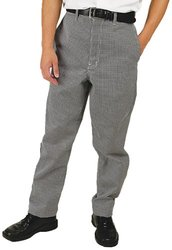 Phoenix Men's Check Chef Pants - Black/White - Size: Small