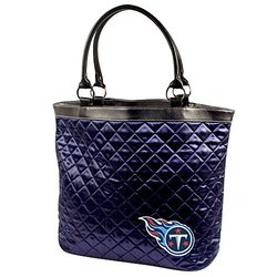 Tennessee Titans Quilted Tote, Navy