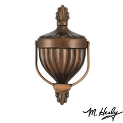 Michael Healy Premium Victorian Urn Door Knocker - Oiled Bronze