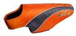 Helios Neoprene Reflective Dog Coat XS Orange/Gray Orange/Gray