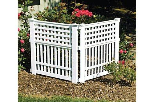 Resin Garden Fence