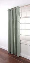 Stylemaster Renaissance Home Fashion Utah Textured Grommet Window Panel, 55 by 84-Inch, Spa