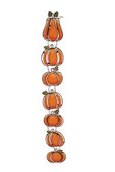Attraction Design Pumpkin Garland