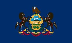 Heath Outdoor 23039 2-Feet by 3-Feet Pennsylvania Flag
