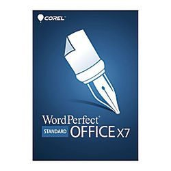 Corel(R) WordPerfect(R) Office X7 Standard Edition, Traditional Disc