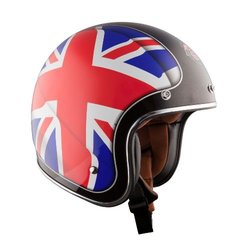 LS2 OF583 Union Open Face Helmet - Red/White/Blue - Size: X-Small