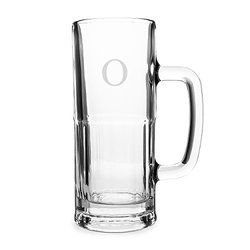 Cathy's Concepts Personalized Frankfurt Tallboy Beer Mug, Letter O