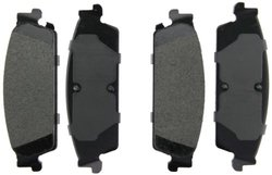 Axxis 45-11940X Extended Duty Premium Metallic Brake Pad Set