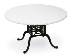 "KoverRoos Weathermax 38"" Round Table Top Cover - 42"" Diameter - White"