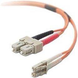 Belkin OM2 LC/SC 50/125 Duplex Fiber Optic Cable (10-Meter)