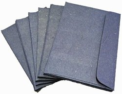 "Mr. Ellie Pooh A2 ""Earth Friendly"" Envelopes - Pack of 25 - Dark Blue"
