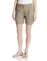 White Sierra Women's Canyon Cargo Shorts, Bark, 8