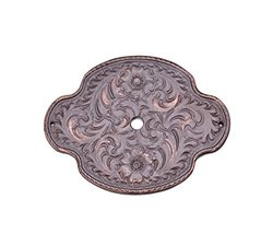 Carpe Diem Hardware 8008-22 Oval Tularosa Escutcheon, Oil Rub Bronze