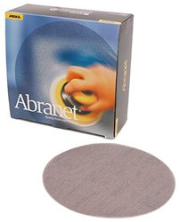 "Mirka 8"" 120 Grit Mesh Abrasive Dust Free Sanding Discs - Box of 50 Discs (9A-252-120)"