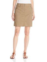 ExOfficio Women's Gazella Skirt - Walnut - Size: 14