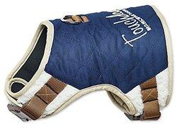 Touchdog Tough-Boutique Adjustable Fashion Dog Harness, Royal Blue, SM