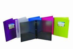 Green Oath 2 Pocket Port Letter Size - 6 Assorted Colors - Pack of 12