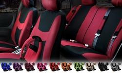 FH Light & Breezy Seat Cover Combo Set - Grey/Black