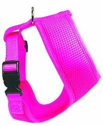 OmniPet BreezyMesh Dog Harness, Medium, Pink
