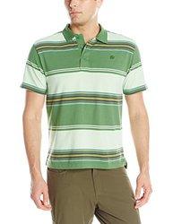 Mountain Khakis Men's Sunset Polo Shirt, Evergreen, X-Large