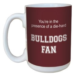 Tree-Free Greetings lm44791 Bulldogs College Basketball Ceramic Mug with Full-Sized Handle, 15-Ounce