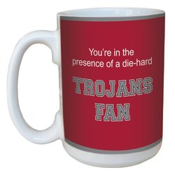 Tree-Free Greetings lm44919 Trojans College Basketball Ceramic Mug with Full-Sized Handle, 15-Ounce